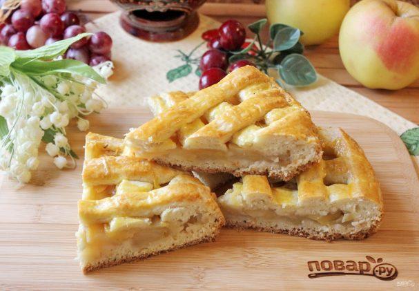 Яблочный пирог Джейми Оливера
