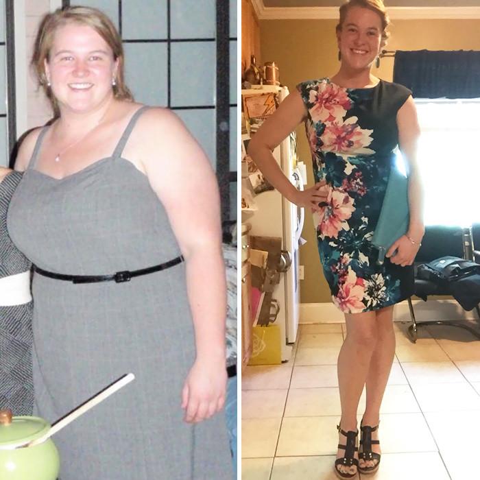 Люди которые сбросили вес фото