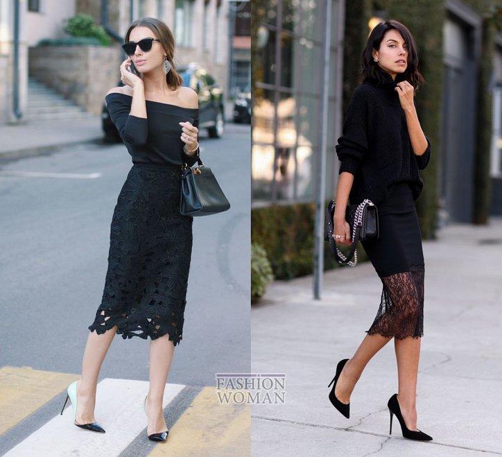 С чем носить юбку-карандаш и выглядеть модно фото №26