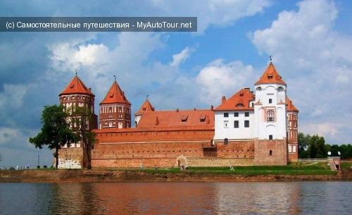 Мирский замок - жемчужина Беларуси