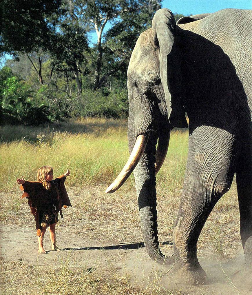 Жизнерадостная Типпи! Необычная девочка прожила годы с дикими животными - 2