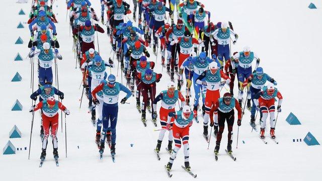 Российский лыжник занял в скиатлоне четвертое место. Три норвежских астматика впереди