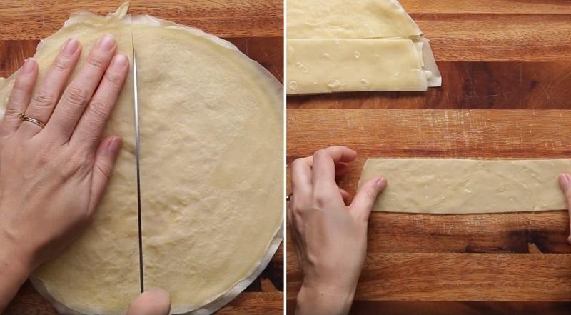 торт из блинов на сковороде