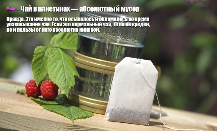 10 мифов о чае (10 фото)