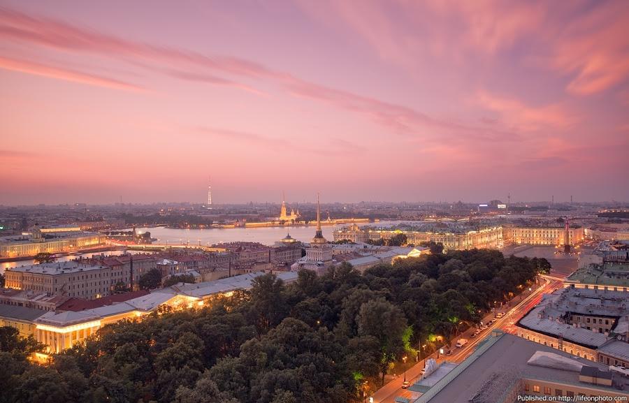 Прекрасный Петербург. Фотограф Лукс Сергей