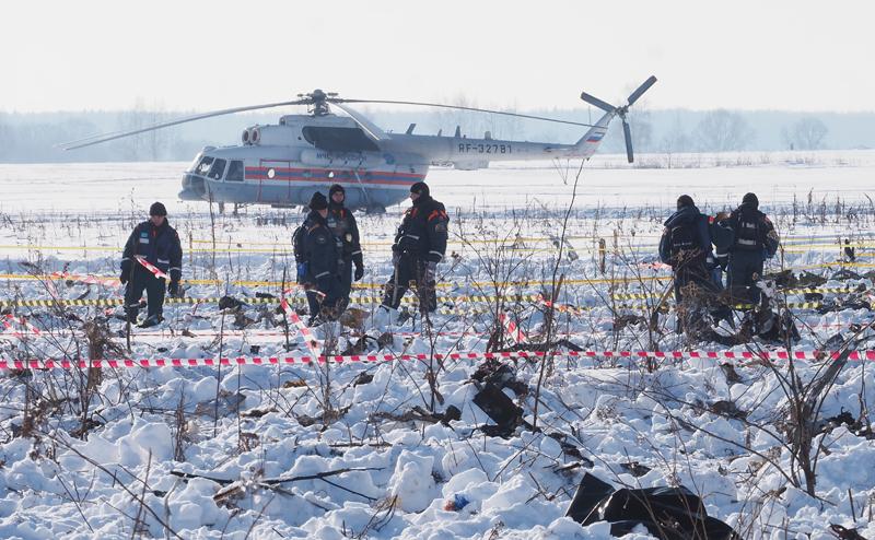 На Западе разгадали причину катастрофы  Ан-148, но теракт не исключается