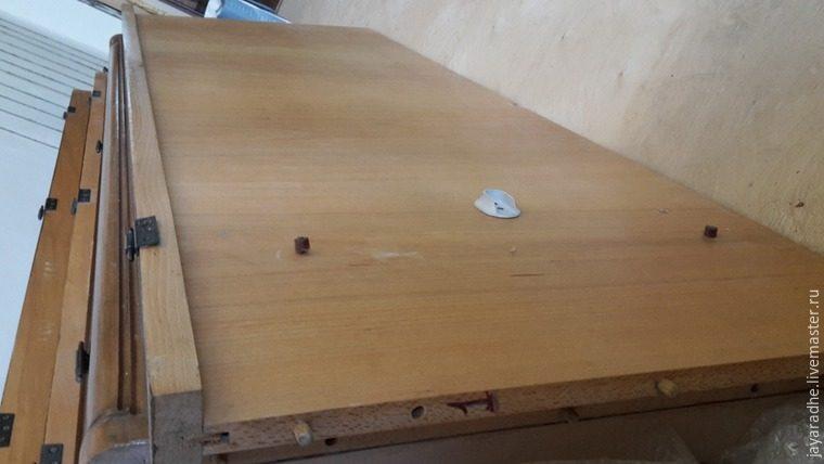 Мастер-класс по реставрации шкафа при условии, что вы еще не успели его выкинуть...