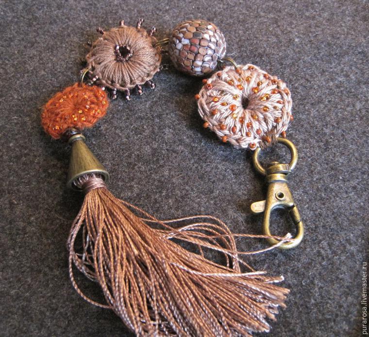 Вяжем милые пуговицы для создания украшений и декора