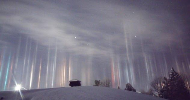 10 необычных зимних явлений природы (10 фото)