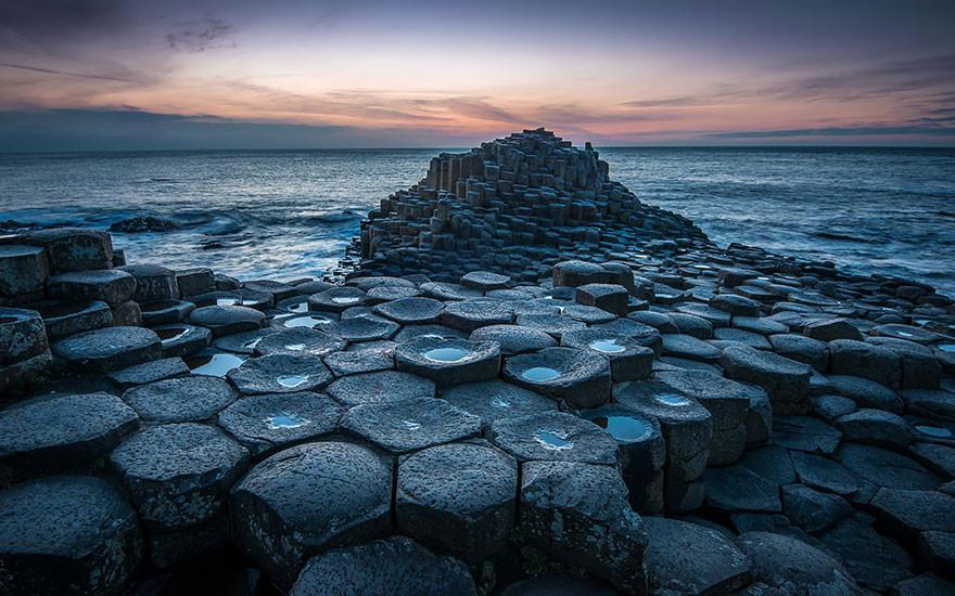 10. Дорога гигантов, Северная Ирландия земля, красота, планета, природа