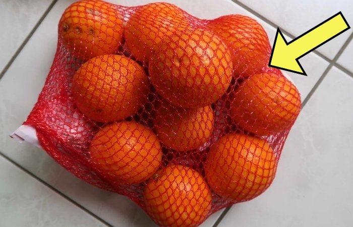 Секрет красной «авоськи» для апельсинов
