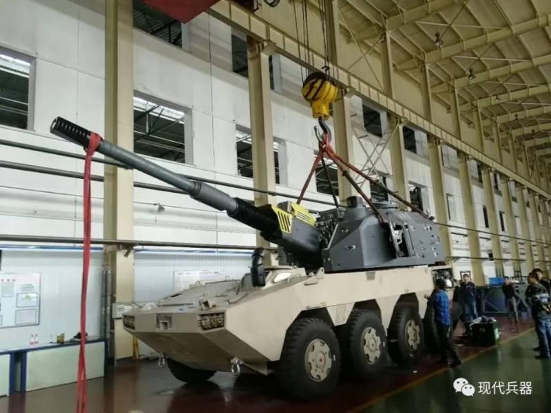 Предпремьерный показ: китайская САУ NORINCO SH11