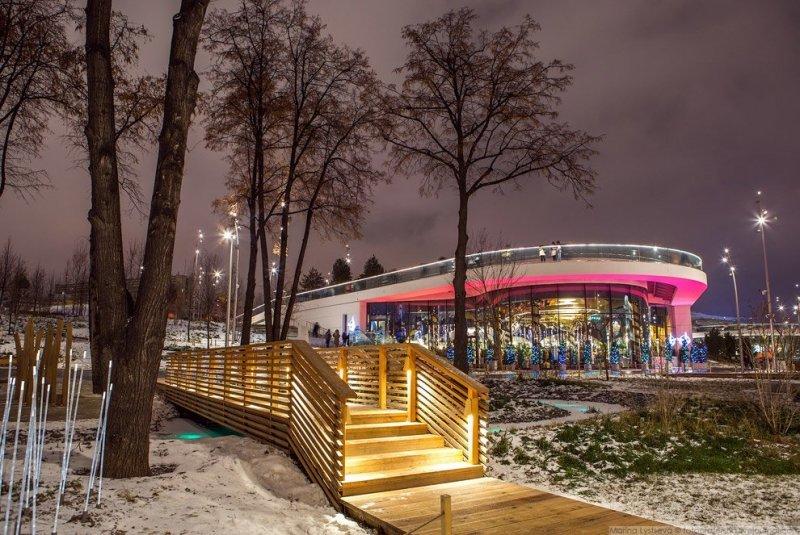 Ресторан «Восход». красиво, красота, москва, новый год, праздник, рождество, столица, фотография