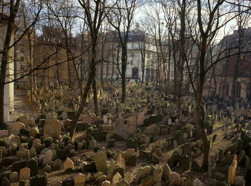 1. Старое еврейское кладбище в Праге, Чехия интересное, история, поучительное, факты