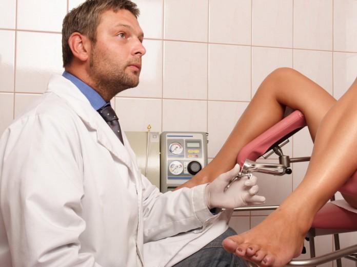 Порно у гинеколога скрытая видео
