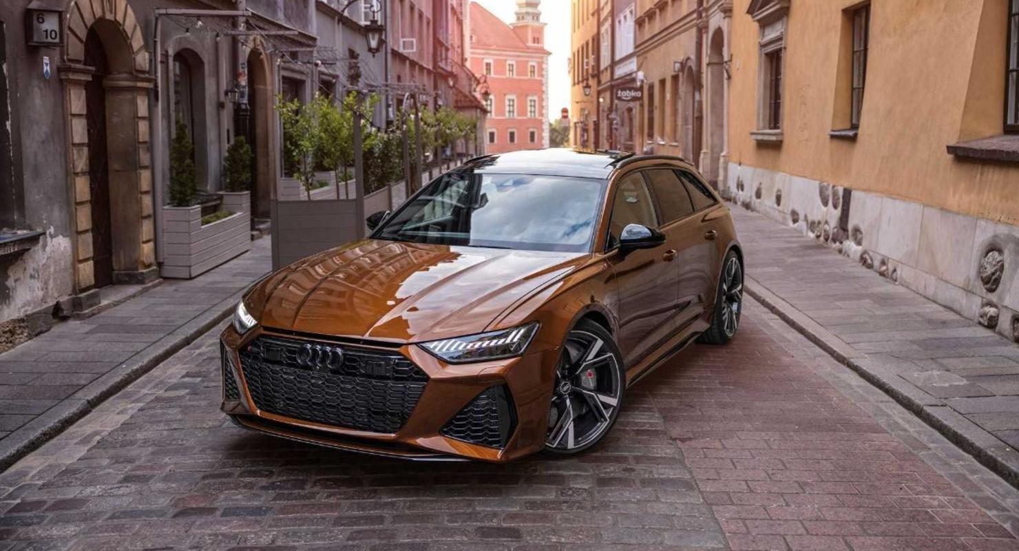 Audi RS6 Avant с коричневым оттенком кузова Ipanema Автомобили