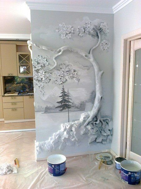 Способы украшения стен