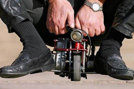 Авто-факт: самый маленький мотоцикл в мире весит 1 кг!