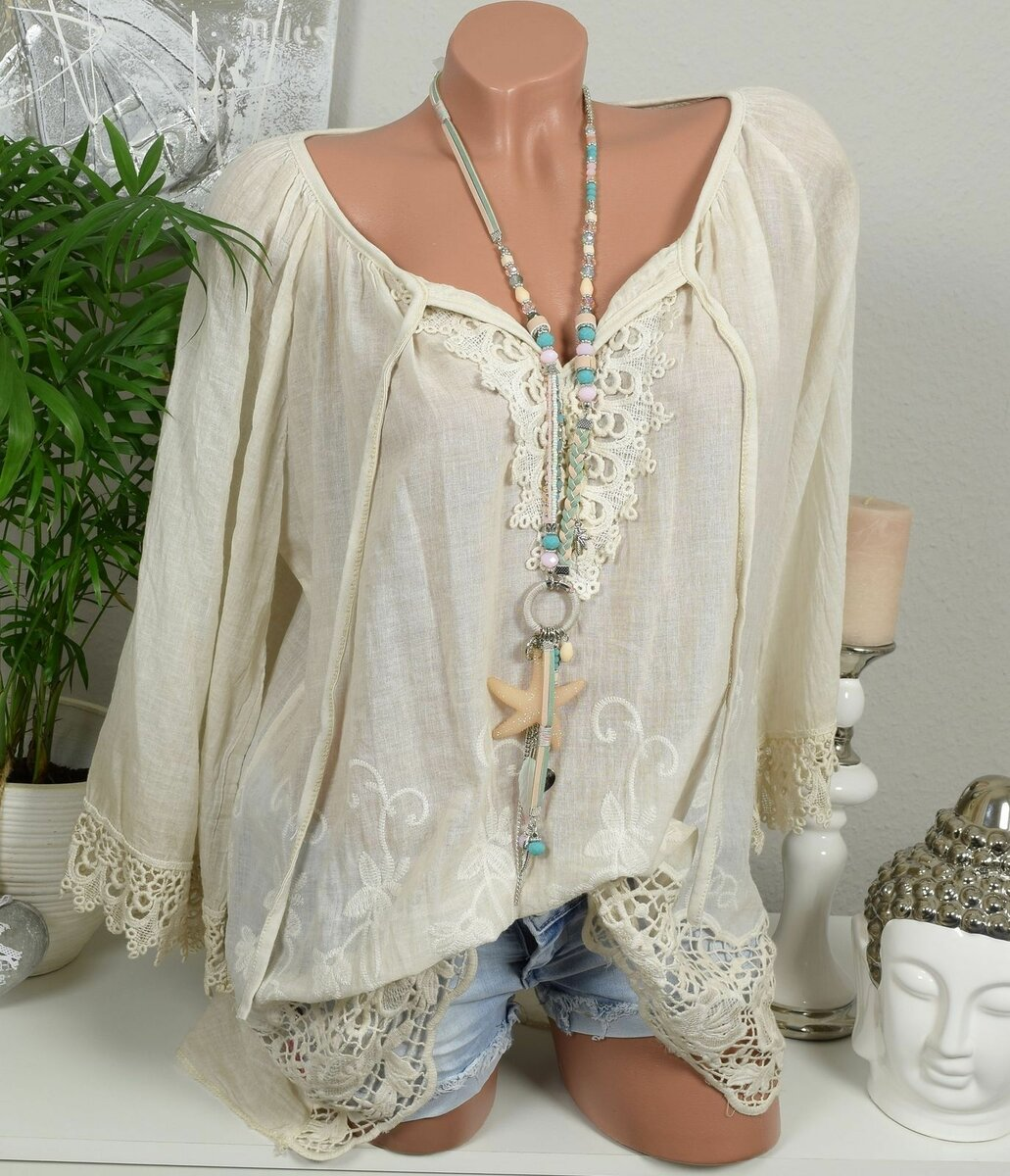 3 легких блузы в стиле бохо, которые стилисты рекомендуют носить летом 2020