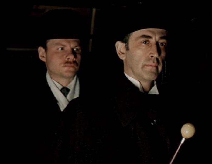 Шерлок Холмс и доктор Ватсон…