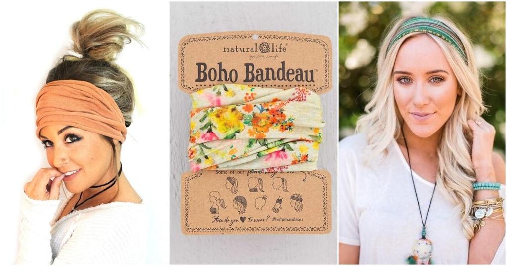 Идеи, преображающие прическу: повязка на волосах в стиле бохо