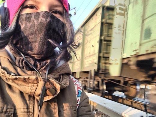 Рина Паленкова из Уссурийска сделала селфи и бросилась под поезд: Фото не для слабонервных!
