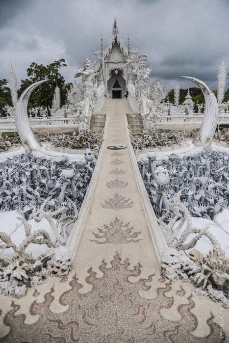 ПУТЕШЕСТВИЯ. Белый храм в Таиланде
