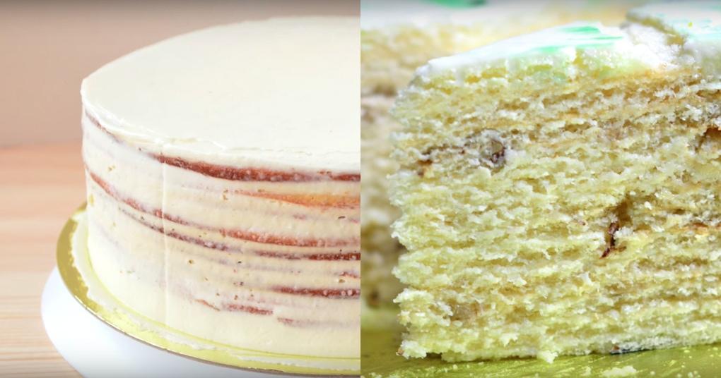 Невероятно нежный и простой в приготовлении торт «Молочная девочка»