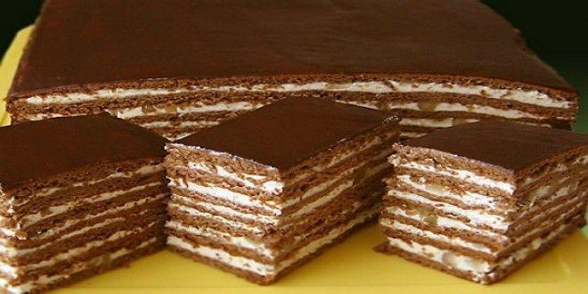 Шоколадный торт «Дамский каприз» Вкуснее торта я не ела давно!