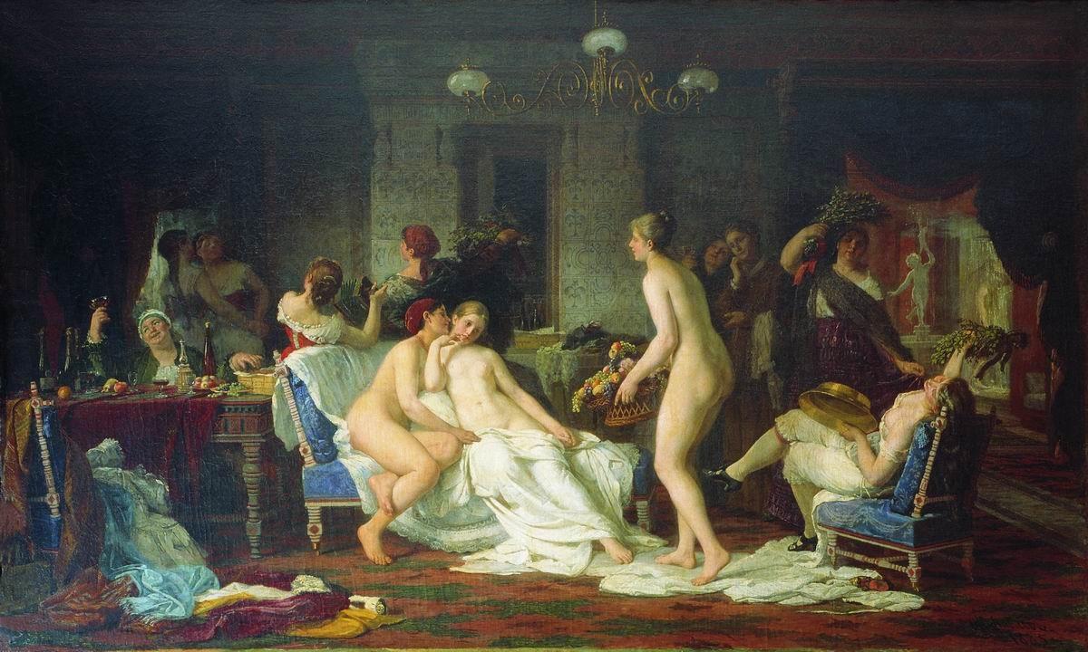 комиксы лизы сексуальные развлечения при царском дворе ошибся этой