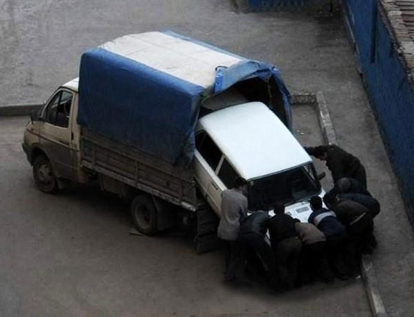 Смешные угоны автомобилей