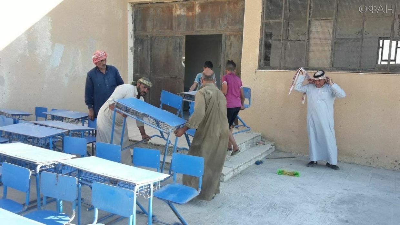 Как курдские боевики мешают обучению детей в сирийской Хасаке Весь мир