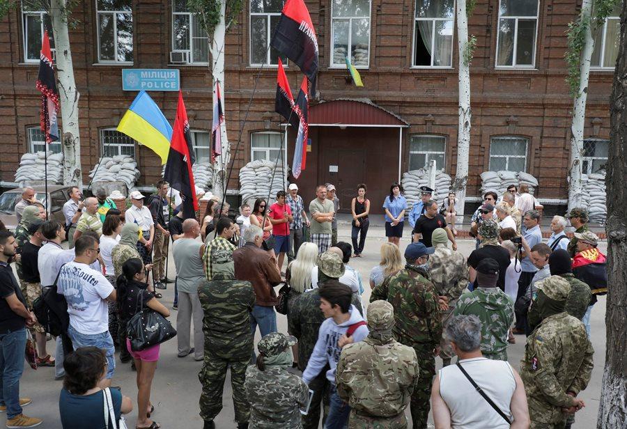 Запад не станет реагировать на события в Мукачево