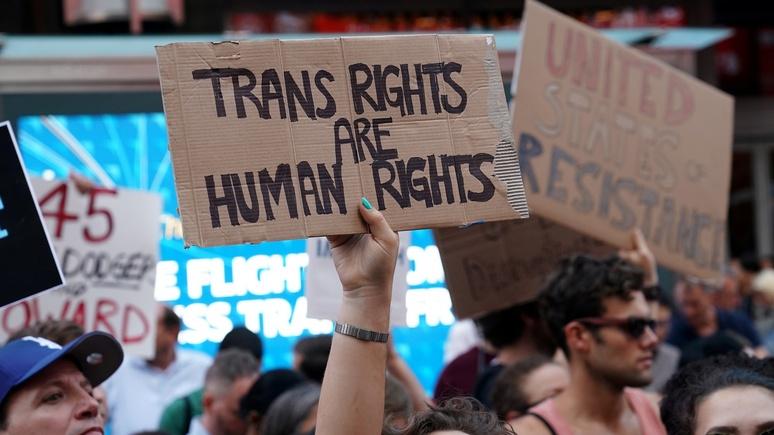 Трамп против трансгендеров