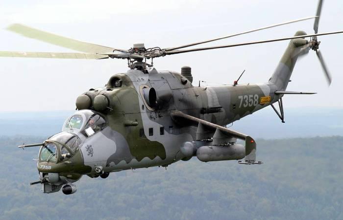 Ми-24 - советский вертолет, …