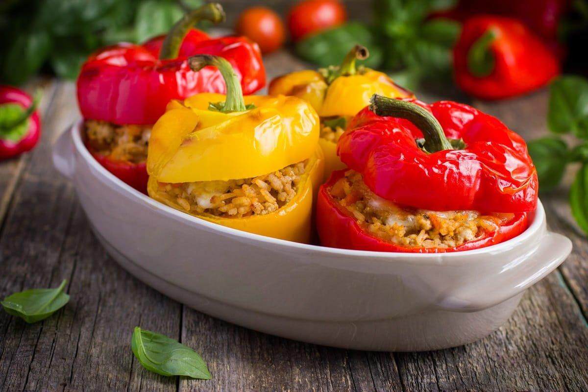 Фаршированных с фото вкусных рецепт перцев