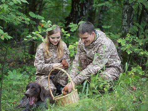 Грибники нашли двухголового белохвостого оленя