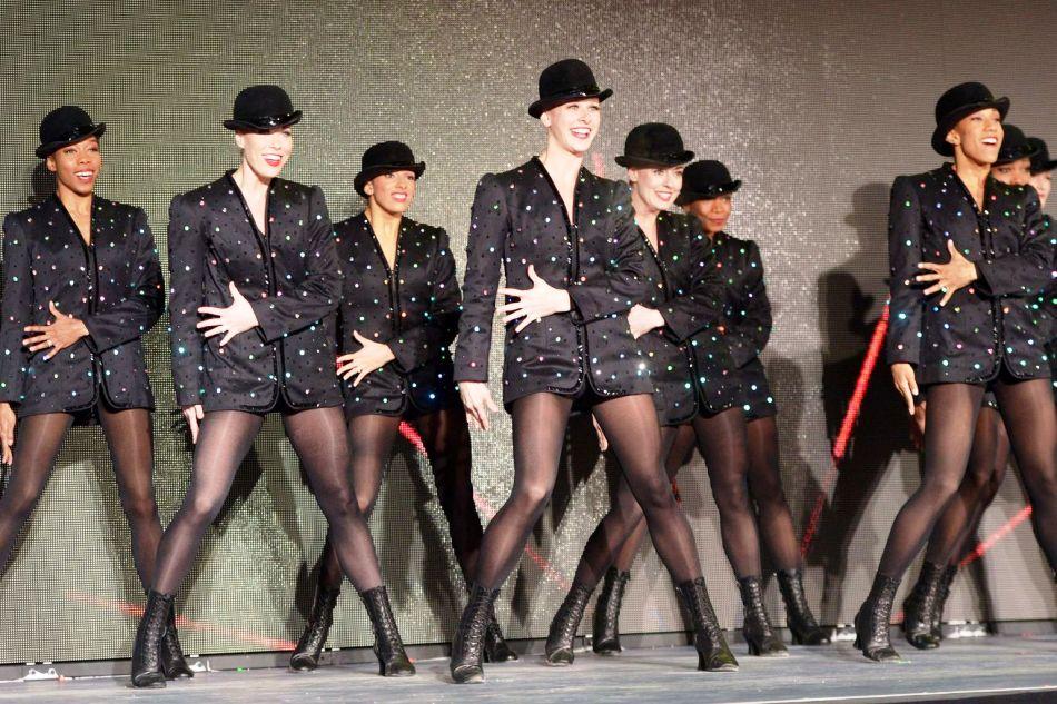 Легендарные ножки девушек из Роккетс