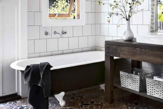 Как просто обновить ванную комнату без ремонта: 7 способов