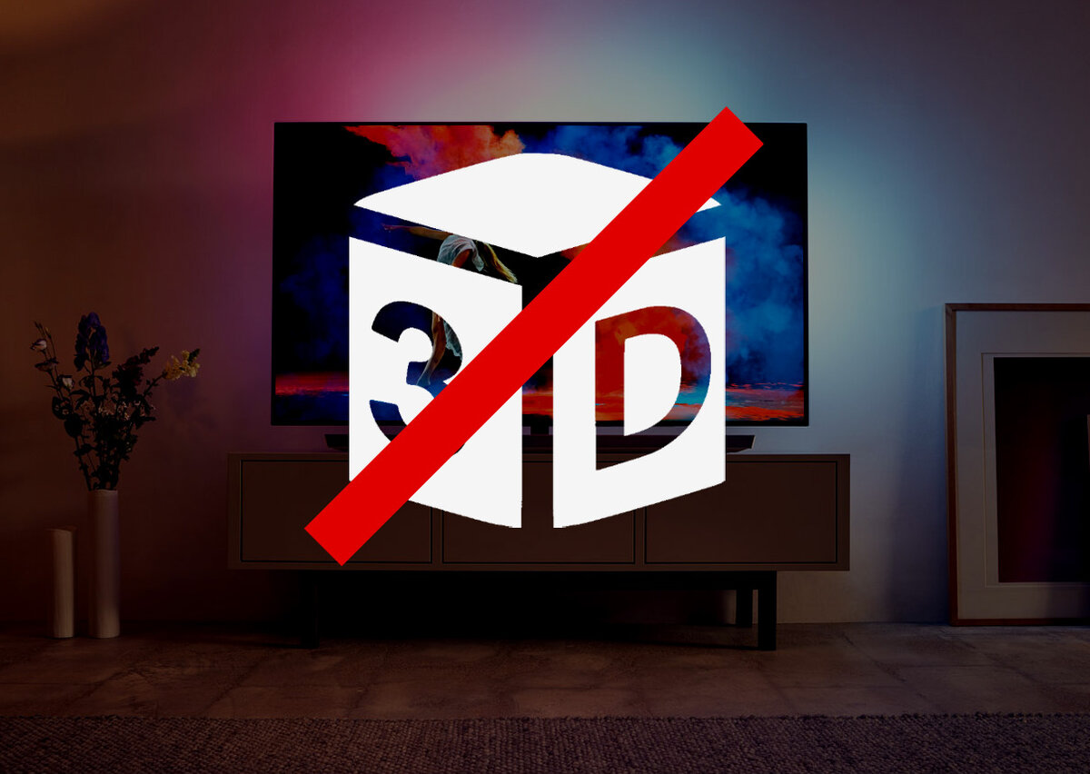 Почему из магазинов пропали 3D-телевизоры