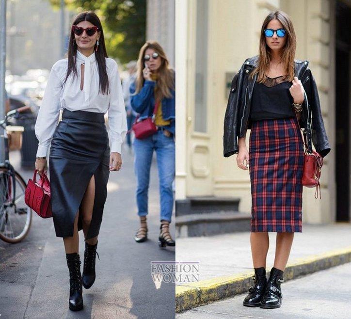 С чем носить юбку-карандаш и выглядеть модно фото №31
