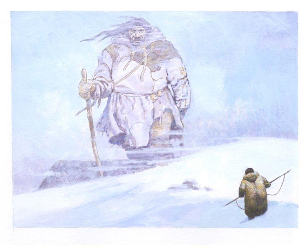 Мифология Арктики. Демоны и великаны севера (2)