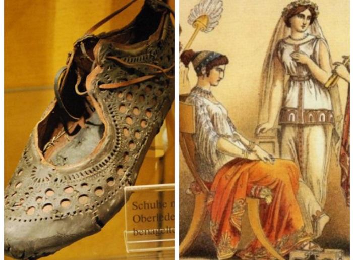 Какой была итальянская обувь 2000 лет назад