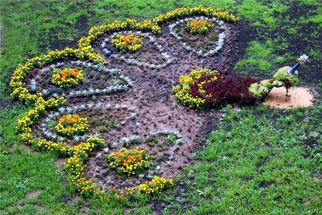 Перепланировка цветников