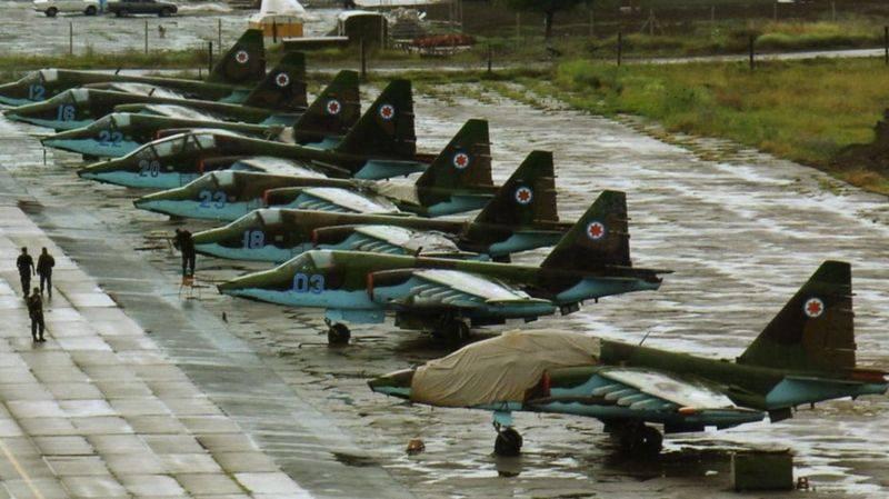 СМИ: Грузия отказывается от штурмовой авиации