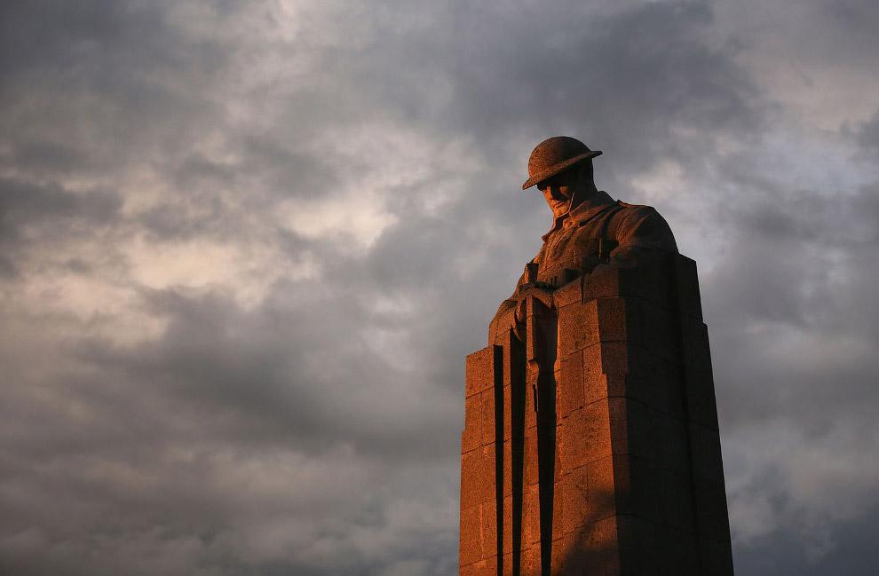 Так выглядят места сражений Первой мировой войны спустя 100 лет