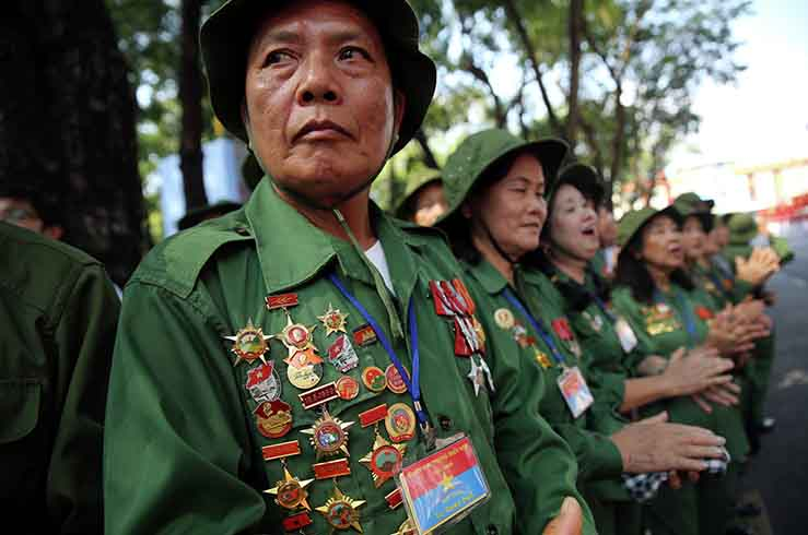 Вьетнам фактически находился в состоянии войны 35 лет