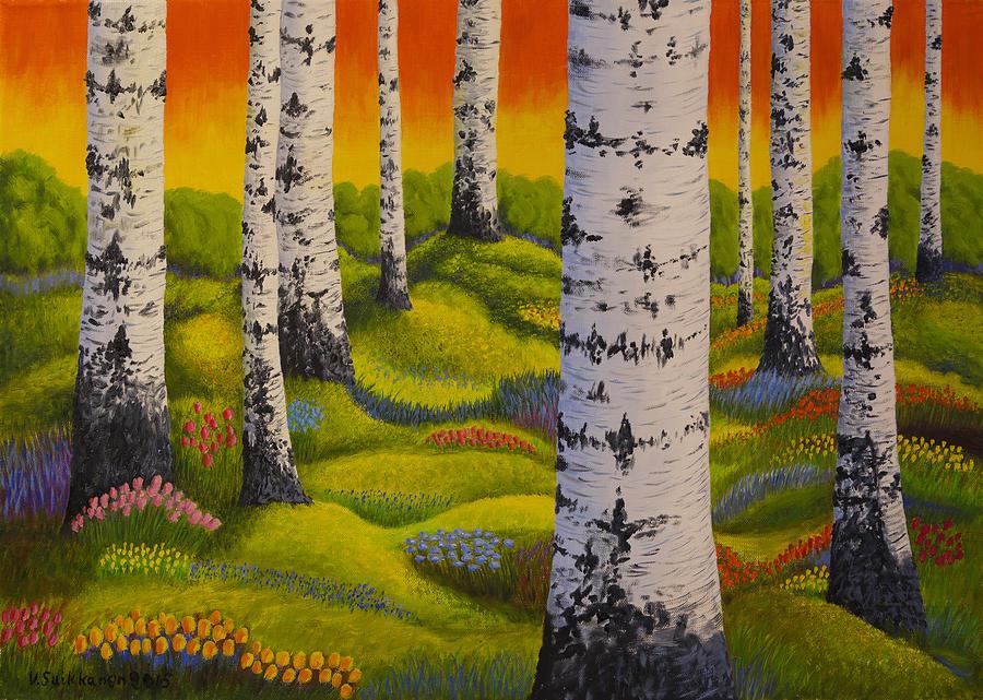 Яркие краски природы финского художника Veikko Suikkanen