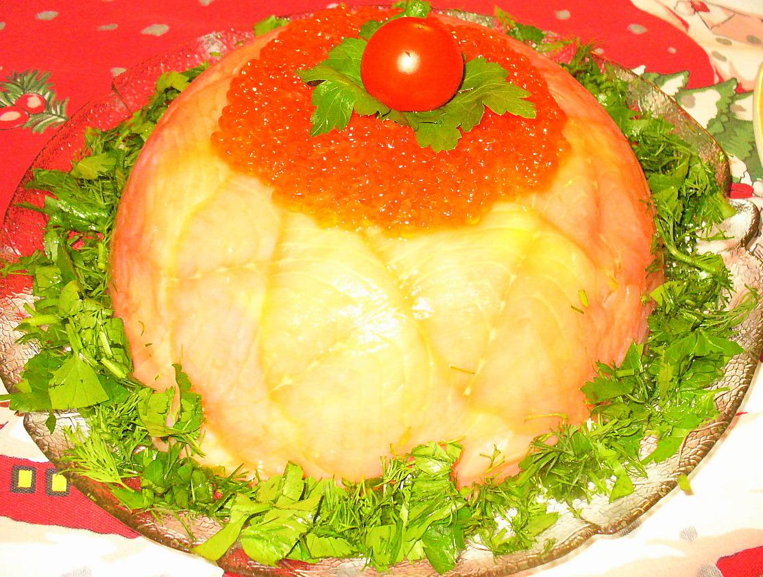 """Салатный торт """" Красный Купол"""""""