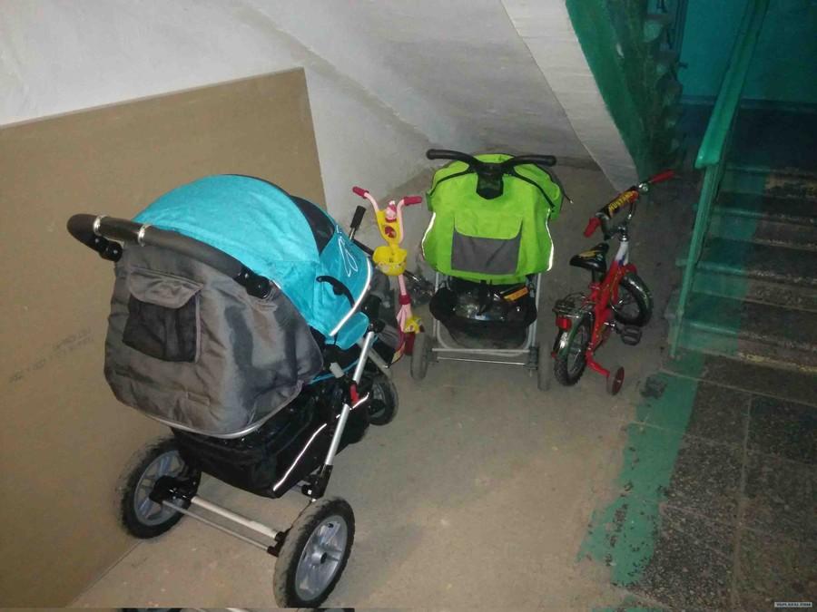 Хранение мебели и колясок в «холодном коридоре» квартира, ремонт, штраф